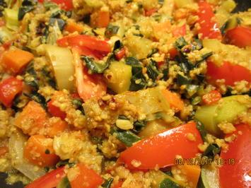 Rezept: Getreidepfanne mit Gemüse