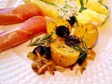 Ofen-Kartoffeln mit Rosmarin und Zwiebeln - Rezept - Bild Nr. 5756