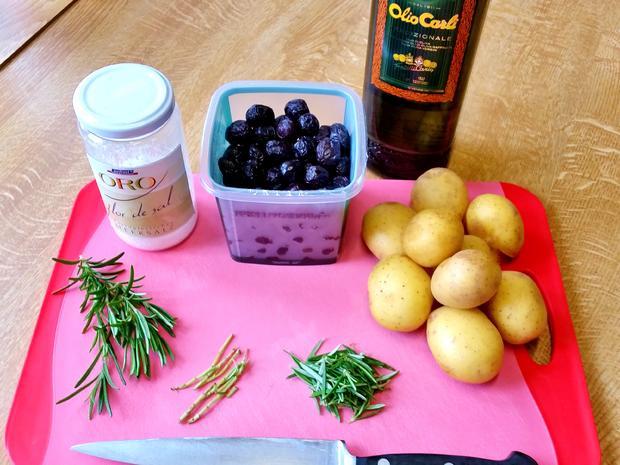 Ofen-Kartoffeln mit Rosmarin und Zwiebeln - Rezept - Bild Nr. 5757