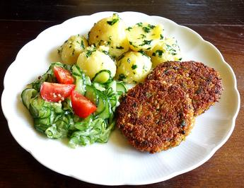 Rezept: Sojinoa-Karotten-Taler