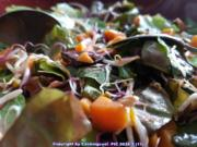 Süsskartoffel- Sprossen- Körner Sauerampfer und Babysalat Blätter - Rezept - Bild Nr. 5763