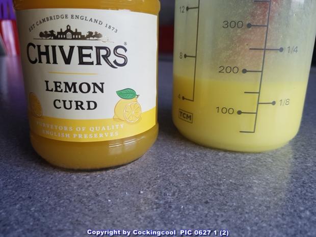 """""""Brownie"""" als Kuchenkranz und Lemon Curd Glasur - Rezept - Bild Nr. 5766"""