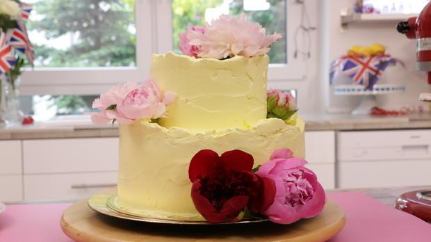 Royale Hochzeitstorte: Zitronen-Holunder-Torte - Rezept - Bild Nr. 5763
