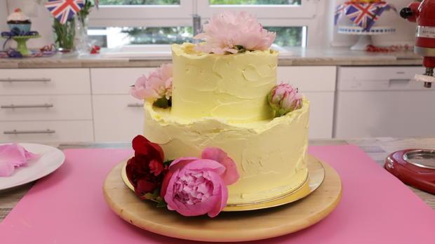 Royale Hochzeitstorte: Zitronen-Holunder-Torte - Rezept - Bild Nr. 5764