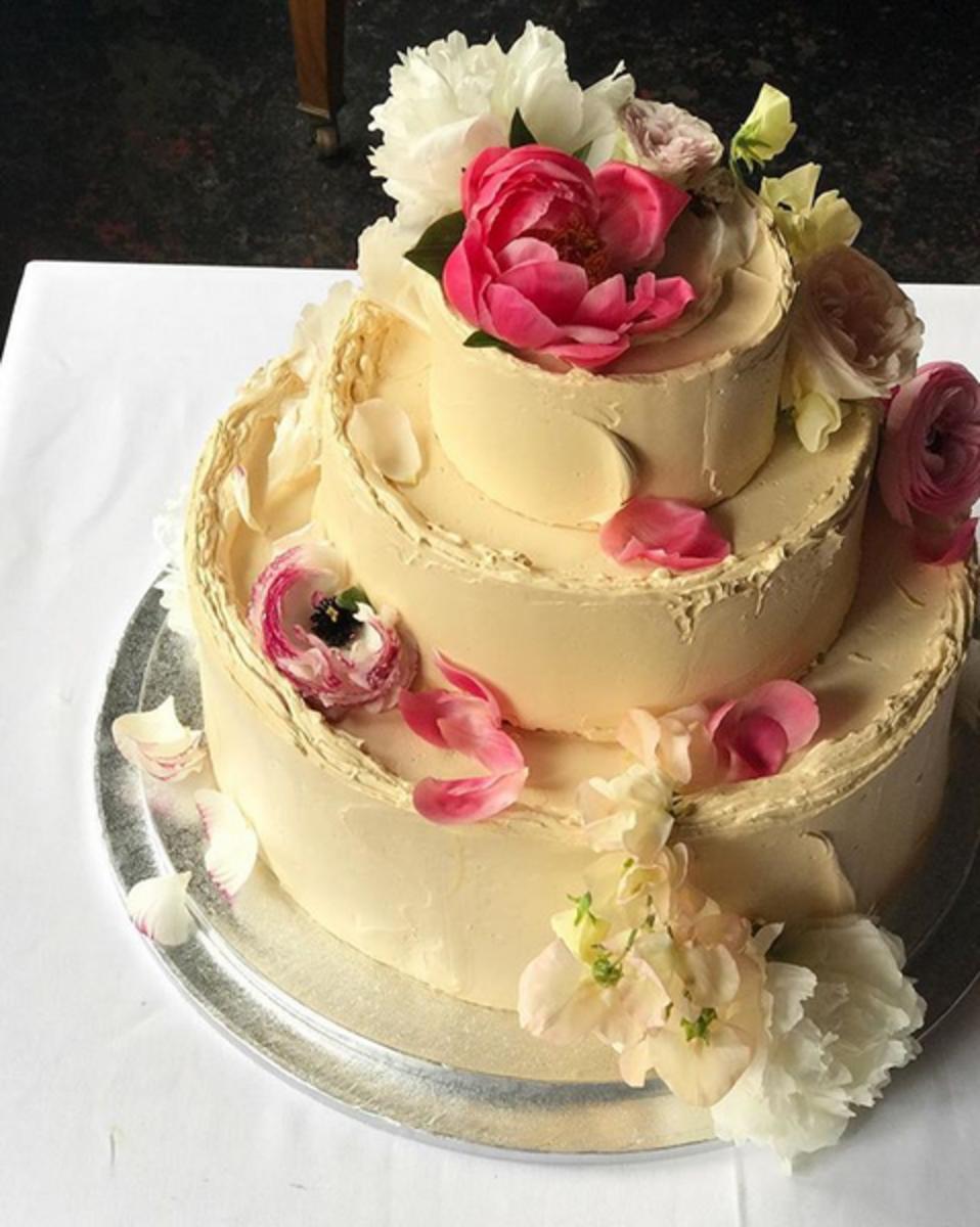 Glutenfreie Hochzeitstorte Frankfurt - Katie Washington