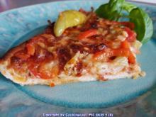 Pizza vom Blech und richtig HOT - Rezept - Bild Nr. 5805