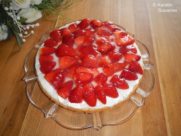 Erdbeer-Schmand-Torte - Rezept - Bild Nr. 5803
