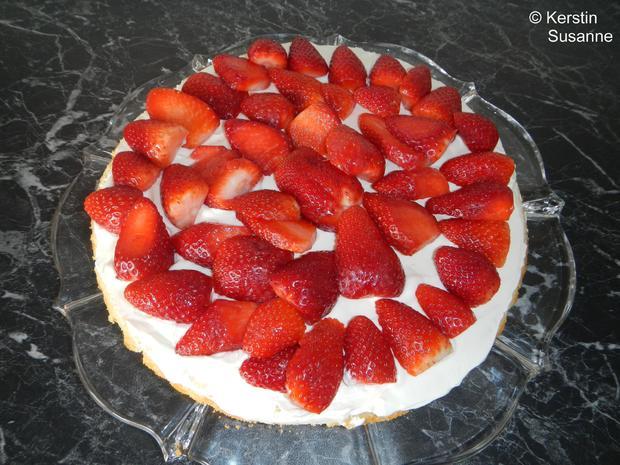 Erdbeer-Schmand-Torte - Rezept - Bild Nr. 5810