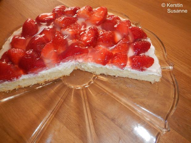 Erdbeer-Schmand-Torte - Rezept - Bild Nr. 5811