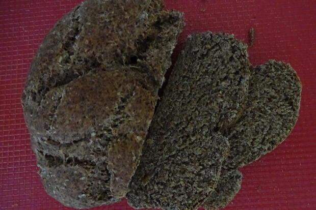Brot/Brötchen: Dinkel-Kräuterbrot mit Leinsamen - Rezept - Bild Nr. 5808