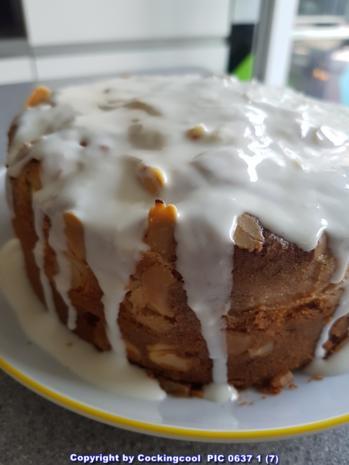 "Oma Löffel`s Kuchen = Apfel ""Mandelkuchen"" im MINI Format - Rezept - Bild Nr. 2"