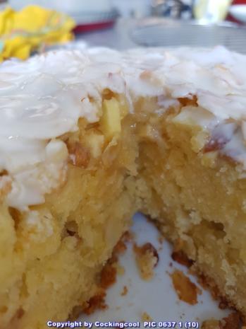 "Oma Löffel`s Kuchen = Apfel ""Mandelkuchen"" im MINI Format - Rezept - Bild Nr. 13"