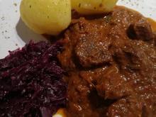 Rindergulasch (natur) -ungarische Variante- - Rezept - Bild Nr. 5822