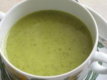 Bärlauchcreme-Suppe - Rezept - Bild Nr. 5813