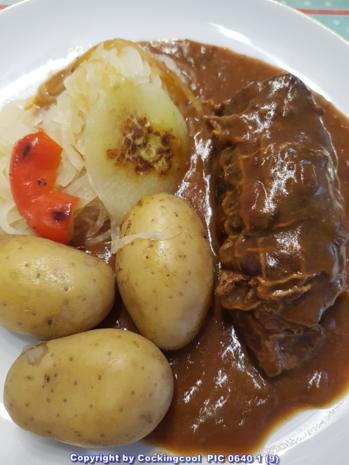 Fleisch / Rind = Rinderrouladen mit lecker Sosse à la Biggi - Rezept - Bild Nr. 5832