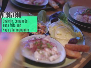 "Peruanischer Vorspeisenteller ""Flores de mi pais"" - Rezept - Bild Nr. 2"
