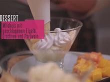 """""""Suspiro de limeña a la Silke"""": Milchkonfitüre und Eischnee mit Portwein und Mango - Rezept - Bild Nr. 2"""