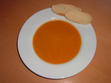Karottensuppe - Rezept