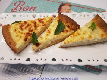 """Oma Löffel`s Kuchen = """"Reisfladen"""" (mit einer Art Hefemürbteig) a`la Biggi - Rezept - Bild Nr. 5841"""