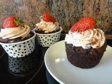 Muffins:   SCHOKO ~ CUP ~ CAKE - Rezept - Bild Nr. 5827