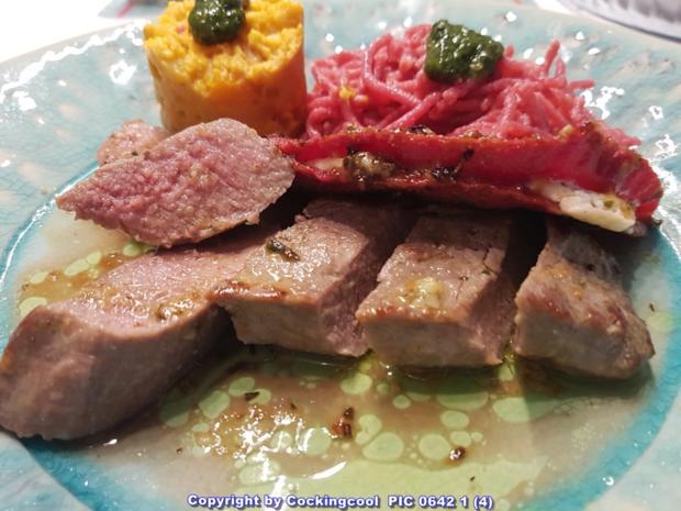 Fleisch / Lamm = Lammlachs (wahlweise Sous Vide oder in der Pfanne) à la Biggi - Rezept - Bild Nr. 5836