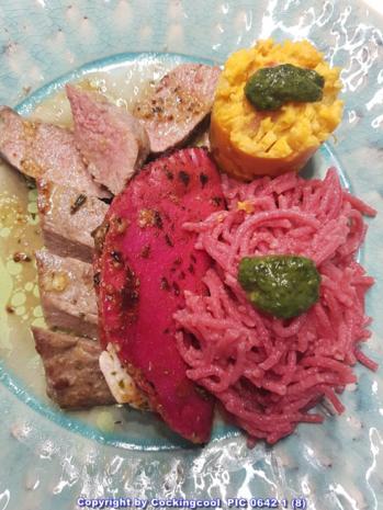 Fleisch / Lamm = Lammlachs (wahlweise Sous Vide oder in der Pfanne) à la Biggi - Rezept - Bild Nr. 5841