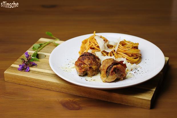 Knusprige Pollo Fino- Saltimbocca - Rezept - Bild Nr. 5830