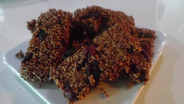 Knabberei mit Amarant und Cranberries - Rezept - Bild Nr. 5827