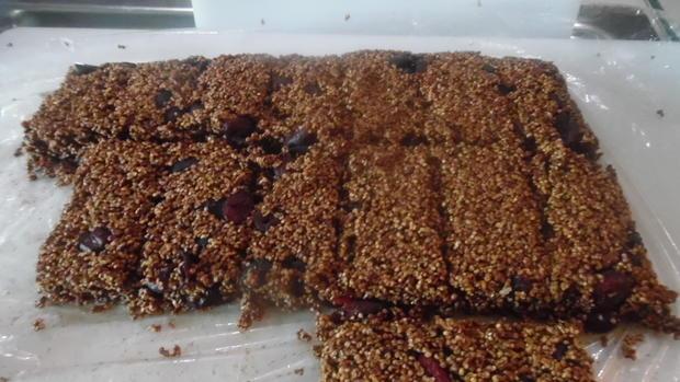 Knabberei mit Amarant und Cranberries - Rezept - Bild Nr. 5828