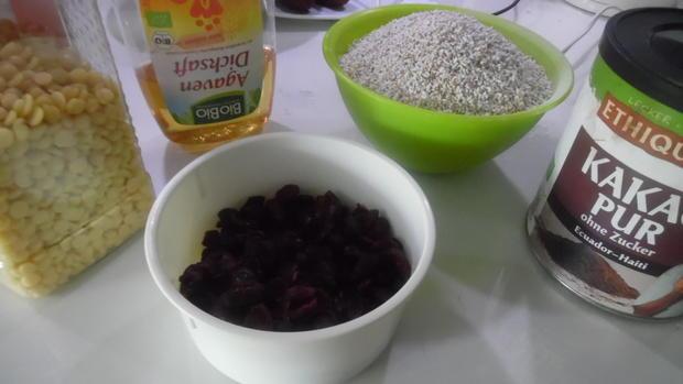 Knabberei mit Amarant und Cranberries - Rezept - Bild Nr. 5834