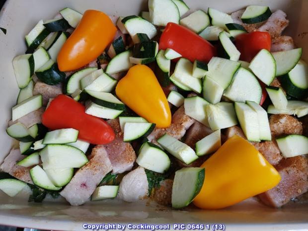 """Sommerlicher """"Gemüseeintopf"""" - Rezept - Bild Nr. 5846"""