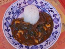 Rindfleisch mit Cashewkernen und Basmati Reis - Rezept - Bild Nr. 5837