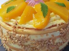 Pfirsich Maracuja Torte im Kleinformat (20er) Bilderrezept :) - Rezept - Bild Nr. 5837