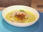 Krabben-Gemüse-Crème-Suppe mit mediterranem Eierstich (Massimo Sinató) - Rezept - Bild Nr. 2