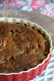 Rhabarber-Kokos-Kuchen - Rezept - Bild Nr. 2