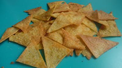Tortilla-Chips salzig oder scharf - Rezept - Bild Nr. 5845