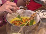 Gelbes Thai-Curry mit Sesam-Tofu-Spieß und Jasmin-Duft-Reis - Rezept - Bild Nr. 5853
