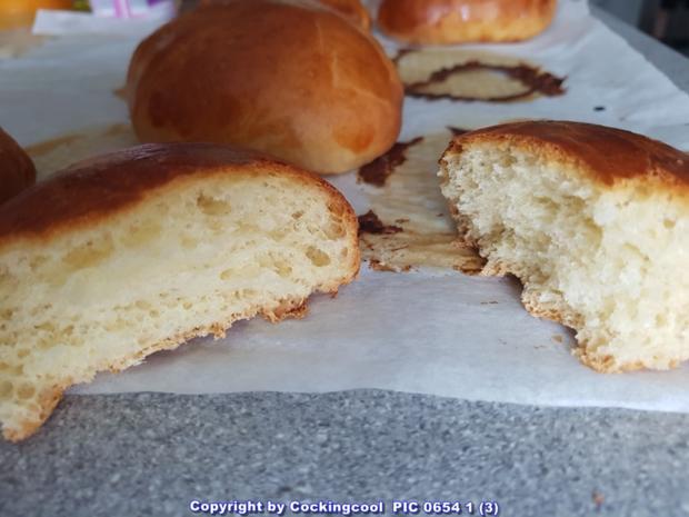 """Oma Löffel`s Brötchen = """"Milchbrötchen"""" so wie sie früher geschmeckt haben - Rezept - Bild Nr. 5886"""