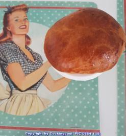 """Rezept: Oma Löffel`s Brötchen = """"Milchbrötchen"""" so wie sie früher geschmeckt haben"""