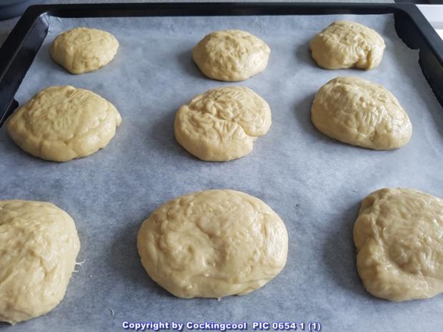 """Oma Löffel`s Brötchen = """"Milchbrötchen"""" so wie sie früher geschmeckt haben - Rezept - Bild Nr. 5890"""