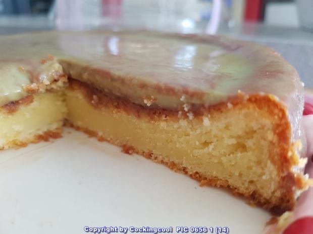 Oma Loffel S Kuchen Limetten Rodonkuchen Die Glasur Ist Einfach