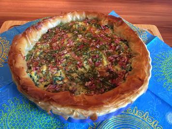 Rezept: Spinat-Ricotta-Tarte