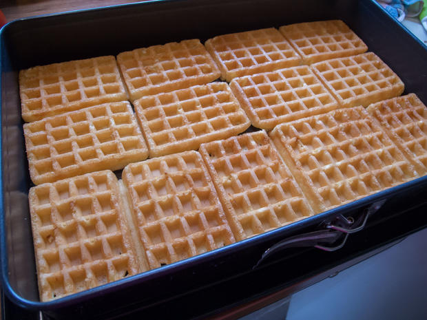 Kuchen ohne backen: Johannisbeer-Quark-Joghurt-Schnitten - Rezept - Bild Nr. 5890