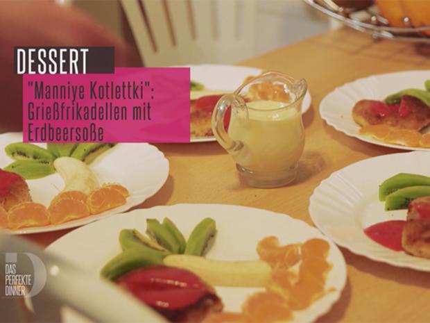 Mannik Kotlety (süße Grießfrikadellen mit selbstgemachter Erdbeersoße) - Rezept - Bild Nr. 5887