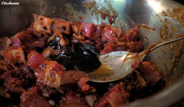 Granatenmässiges Schweinchensugo - Rezept - Bild Nr. 3
