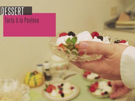 """Torte """"Baiser á la Pavlova"""" mit frischen Beeren - Rezept - Bild Nr. 5887"""