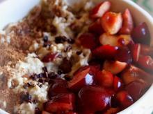 Frühstück: Kirsch-Porridge - Rezept - Bild Nr. 2