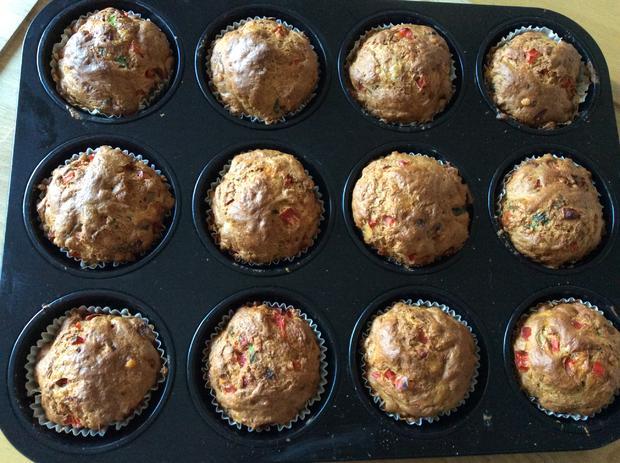 Gemüse Dinkel Muffins - Rezept - Bild Nr. 5912
