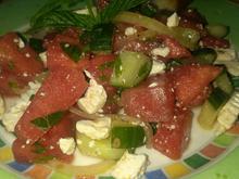 Melonen Salat - Rezept - Bild Nr. 5927