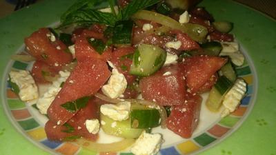 Rezept: Melonen Salat
